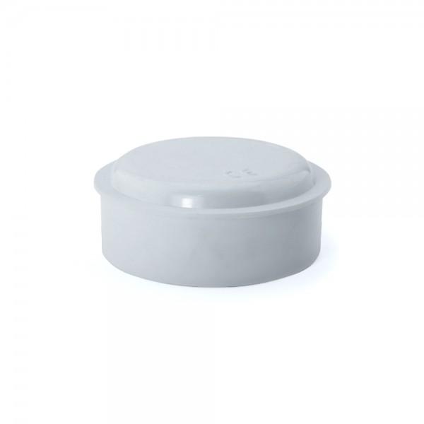 Caja de empalme superficie blanca redonda Ø80x32