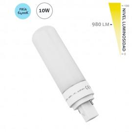 Bombilla led G24 10W 980Lm 6400K