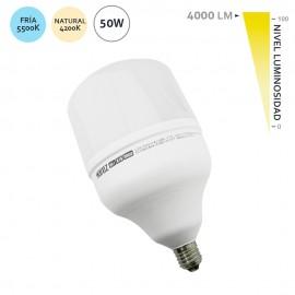 Bombilla LED Alumbrado Público E27 50W