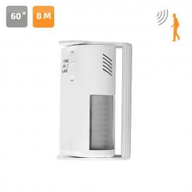 Timbre alarma de pared con detector de movimiento