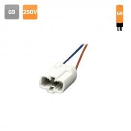 Portalámparas G9 cerámico 250V