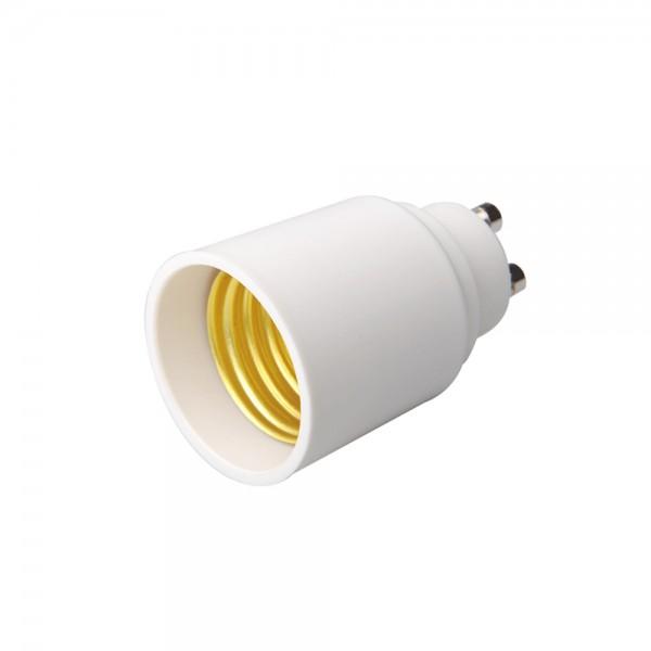Adaptador lamparas GU10 a E27
