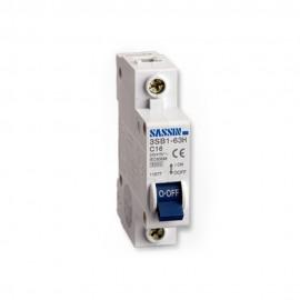 Interruptor automático magnetotérmico 1P+N 10A Estrecho