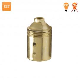 Portalámparas E27 vintage de latón