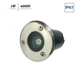 Baliza LED redonda 1x1W IP65