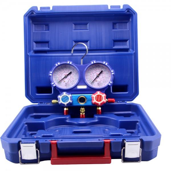 Estuche analizador 2 válvulas TODOS LOS GASES diam. 80