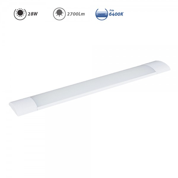 Regleta LED electrónica 28W 2700Lm 6400K