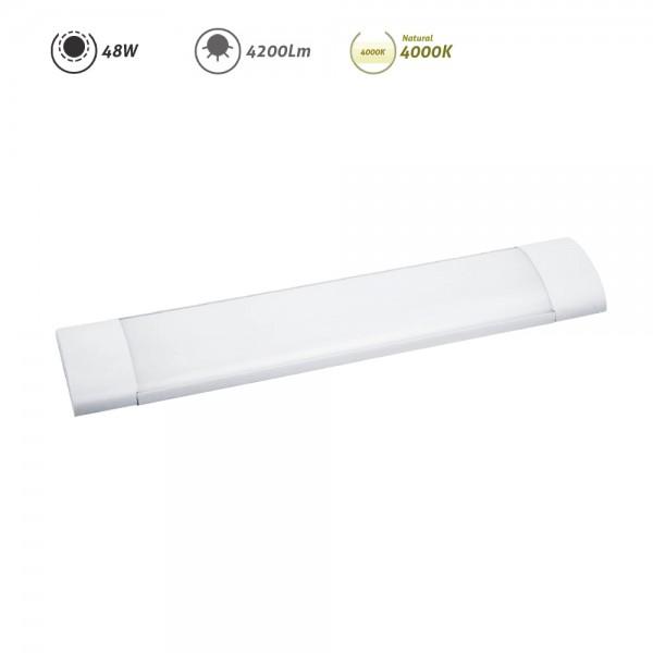Regleta LED electrónica 48W 4200Lm 4000K