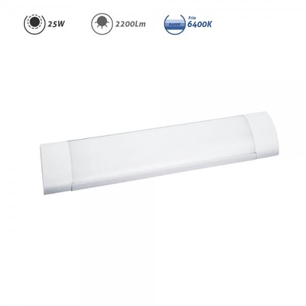 Regleta LED electrónica 25W 2200Lm 6400K