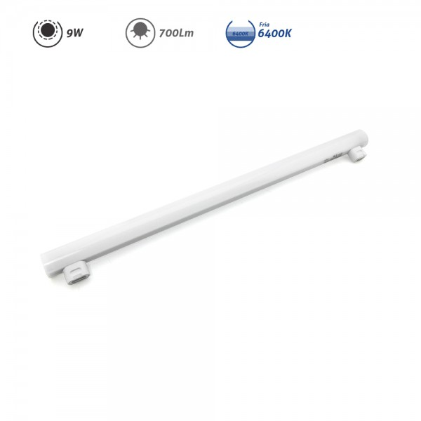 Linestra LED 2 casquillos S14S 9W 700Lm 6400K