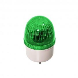Luz LED de avertencia verde para garaje