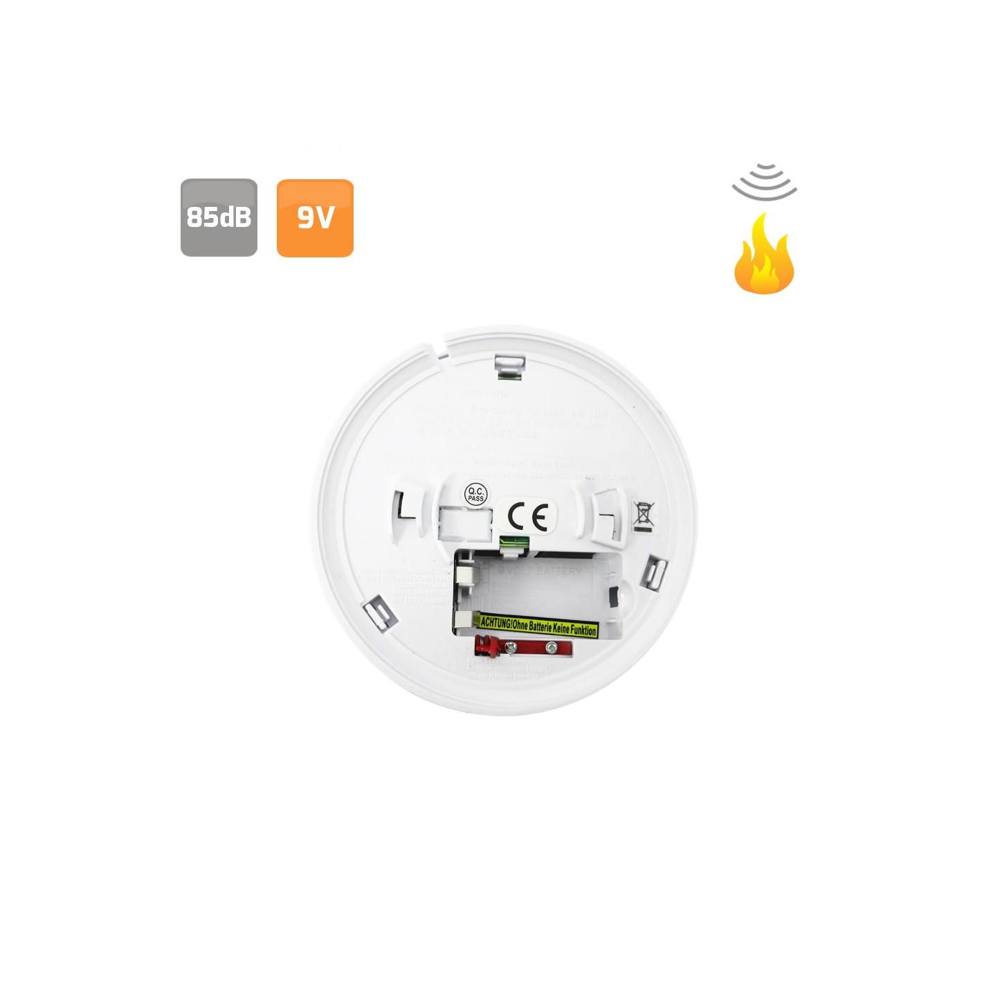 Alarma detector de humos alg sistemas - Detector de humos ...