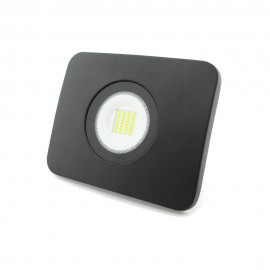 Proyector LED alumunio fundido negro 30W IP65