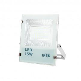 Proyector LED Nereida blanco 15W IP66
