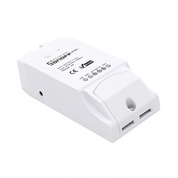 Interruptor Inalámbrico 2 Canales Wi-Fi 2.4GHz 90V~250V AC 16A Sonoff Dual