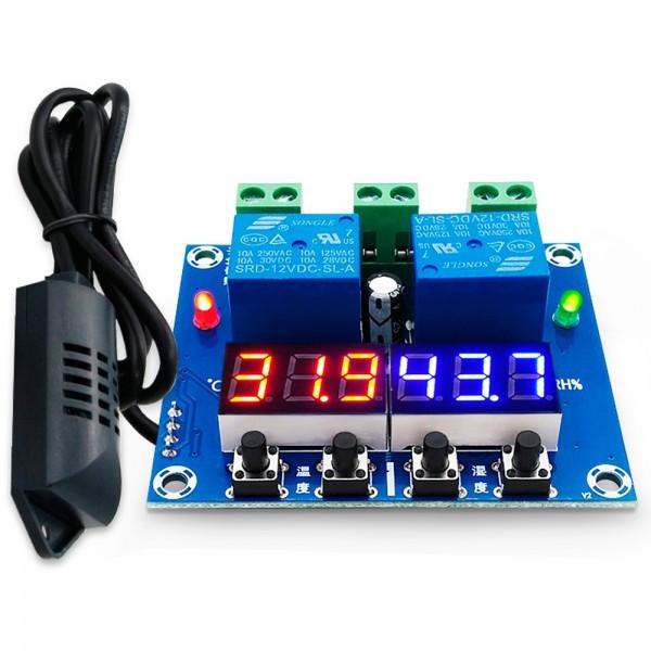 Controlador de temperatura -20ºC/60ºC y humedad 0% a 100% HX-M452