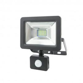 Proyector LED con sensor de movimiento 10W IP65