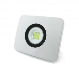 Proyector LED alumunio fundido blanco 30W IP65