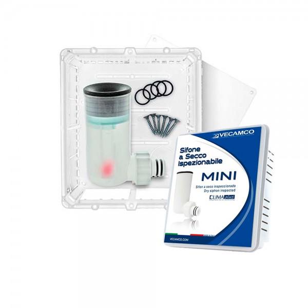 Kit sifón a seco Mini inspeccionable con caja ClimaPlus