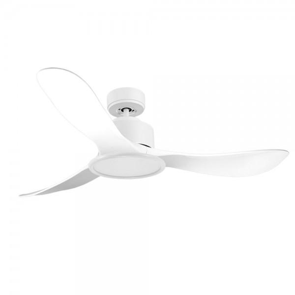 Ventilador de Techo MOTOR DC4 Blanco Aspa P3 blanca 132cm Luz L2 Blanca