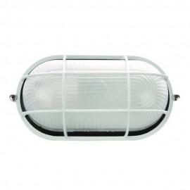 Plafón de Exterior Clásico de Aluminio Ovalado