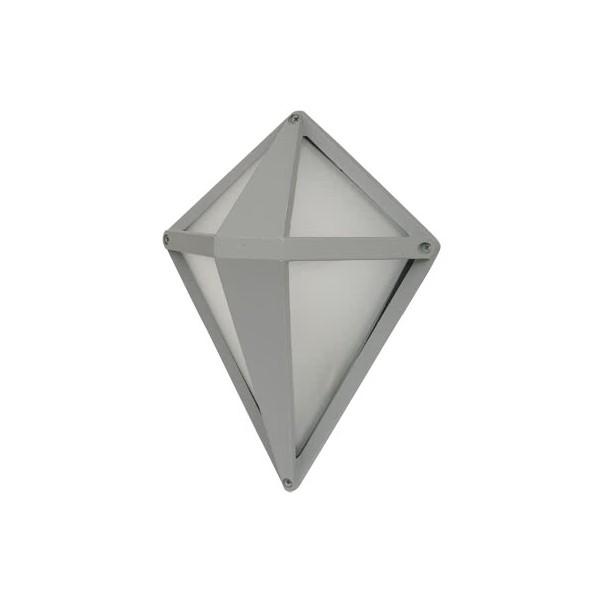 Aplique Exterior Lagrima Zinc 1xe27 (29x21.6x14)