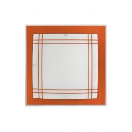 Plafon Amet Naranja 2xe27 (32x32x6)