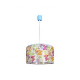 Colgante Infantil Papillon Lila 1xe27 (regx30d)