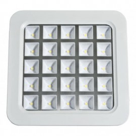 Downlight Cuad. Amon Led 16w Blanco 6500k