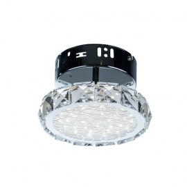 Plafón  Argon Luna Cristal 7w Led 16d luz natural