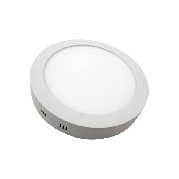 Downlight Sup. Red. 12w 6500k Aquiles Led Blanco 950 Lm 17,3dx4h
