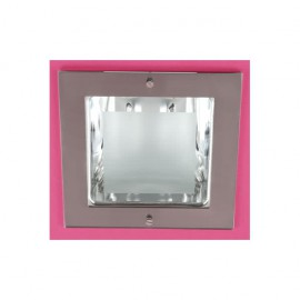 Downlight Cuadrado 2xe27 26w 23x23