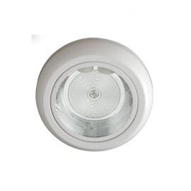 Downlight Sup. Redondo Blanco 2xe27 27d