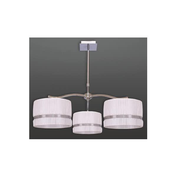 Lampara 3 Br. 3x230v E27 60w (25x16,5) Marron