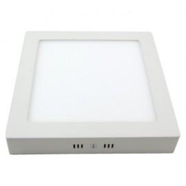 Downlight 12w 6500k Sup.cuad. Pegaso Led Blanco 950 Lm 17,3x17,3x4