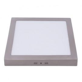 Downlight 18w 6500k Sup. Cuad. Pegaso Led Niquel 1425 Lm 22,5x22,5x4