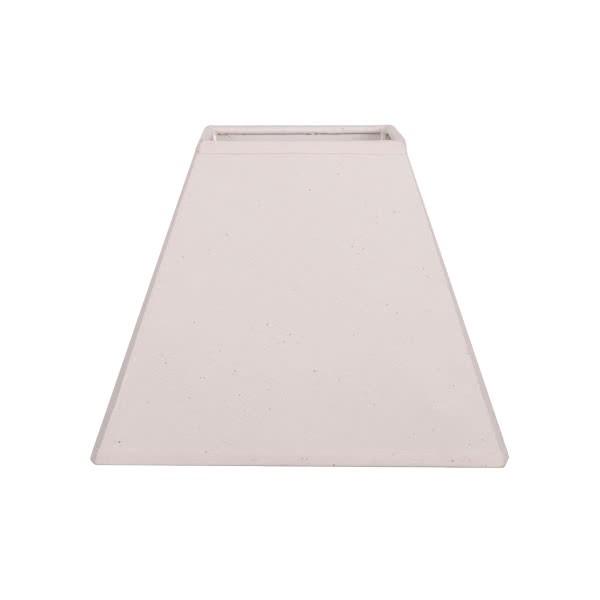 Pantalla Piramidal Lisa Dania E27 Beis (20x10x16)