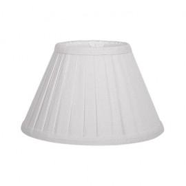 Pantalla Conica Plisada Gracia E27 Beis (20x10x13)