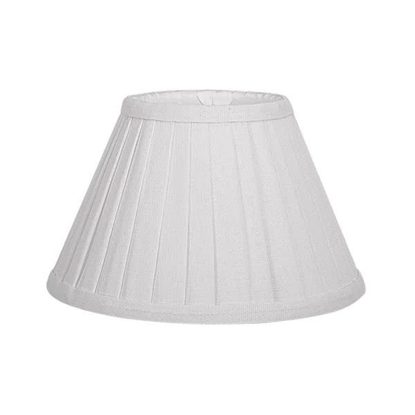 Pantalla Conica Plisada Gracia E27 Beis (35x18x23)