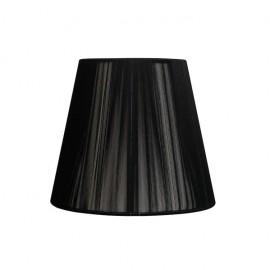 Pantalla Conica Hilo Indira Pinza Negra (14x8x9.5)