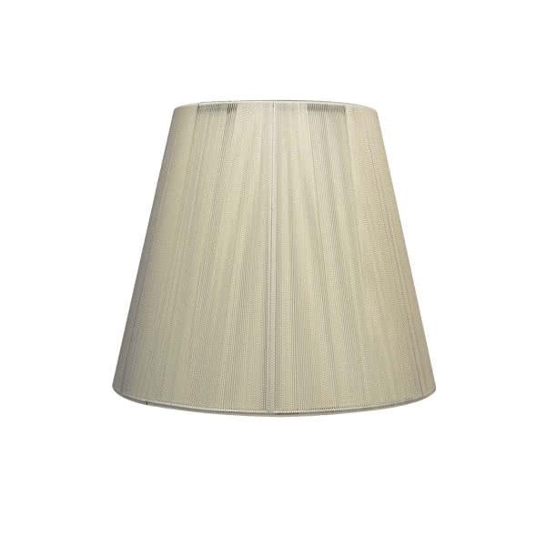Pantalla Conica Hilo Indira E27 Beis (30x15x20)