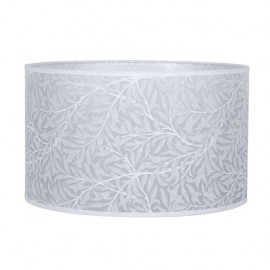 Pantalla Cilindrica Judit E27 Hoja Blanca 18x30 D