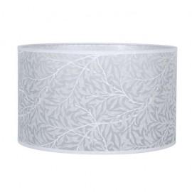Pantalla Cilindrica Judit E27 Hoja Blanca 20x35 D