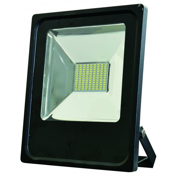 Proyector 50w 6500k Led Smd Quiron 4500lm 120º 23,8x28,8x6,2
