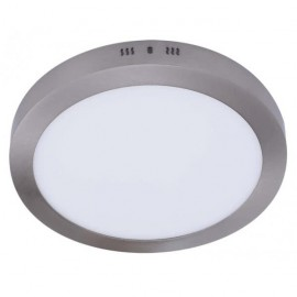 Downlight Sup.red. 18w 4000k Aquiles Led Niquel 1425 Lm 22,5dx4h