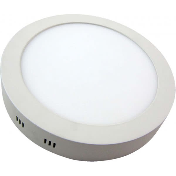 Downlight Sup.red. 24w 4000k Aquiles Led Blanco 1800 Lm 30dx4h