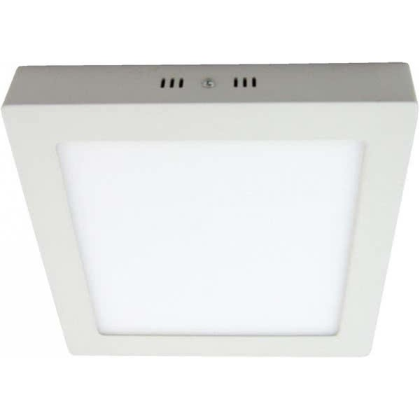 Downlight 12w 4000k Sup. Cuad. Pegaso Led Blanco 950 Lm 17,3x17,3x4