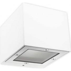 Aplique Exterior Ginevra Blanco 1xg9 Ip65 8x10x11
