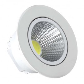 Empotrable Blanco Serie  Wolf Led 7w 630lm 4000k  4,5x8,5x8,5