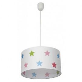 Colgante Star Estrellas De Colores 1xe27 Regx35d